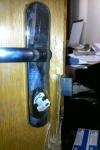 obyčejné dveře překonané